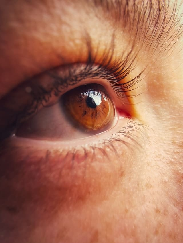 How to make your eyes look bigger without makeup - eye lashes