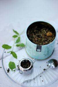 peppermint tea for cough - mint