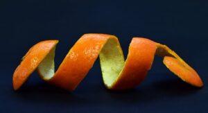 home remedies for bad breath - orange peel