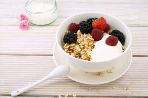 How to lose belly fat fast at home - oatmeal