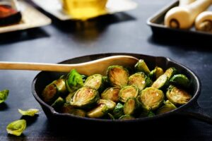 vitamins for healthy eyes - Brussels sprouts