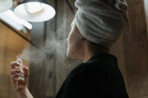 natural makeup products - spray
