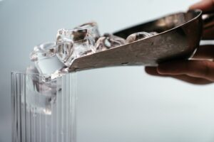 remedies for watery eyes - ice cubes