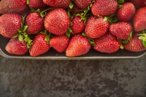 remedies for watery eyes - strawberry